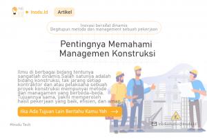 Artikel Managemen Proyek Konstruksi