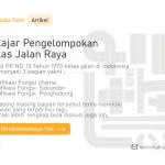 Pengelompokan Kelas Jalan Raya di Indonesia